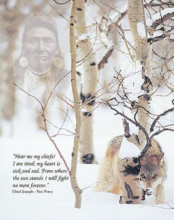 Chief Joseph's Prayer