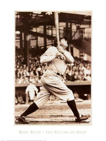 Babe Ruth the Sultan of Swat