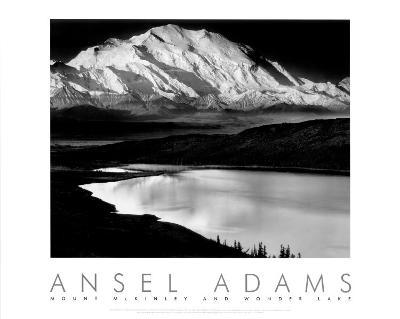 Mount McKinley and Wonder Lake, Denali National Park, Alaska, 1947