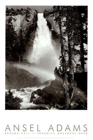 Nevada Fall, Rainbow, Yosemite National Park, 1946