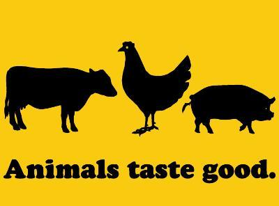 Animals Taste Good.