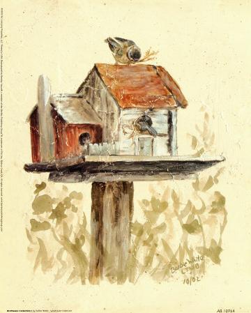 Birdhouse Collection I