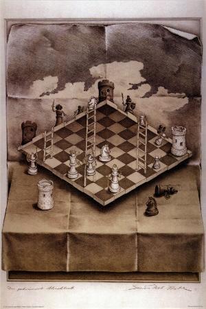 Illusion Chess Board