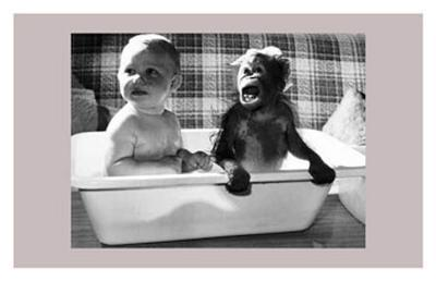 Bath With a Little Friend
