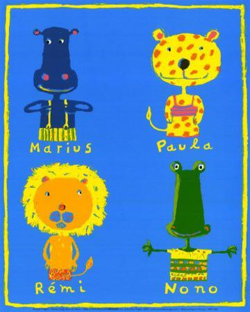 Marius, Paula, Remi and Nono