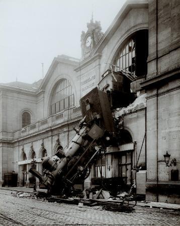Accident of Montparnasse Station