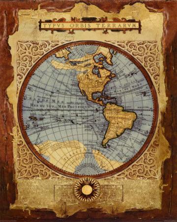 Vintage Global Map I