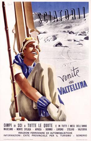 Valtellina, Sciatori