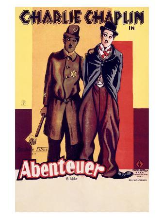 Charlie Chaplin, Abenteuer