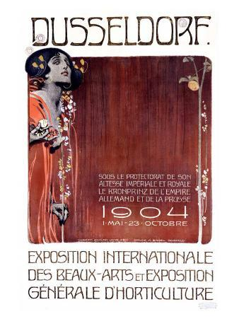 Exposition des Beaux Arts, Dusseldorf