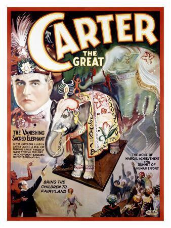Carter the Great, The Vanishing Sacred Elephant