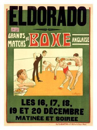 El Dorado, Matchs de Boxe Anglaise