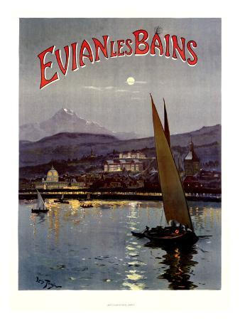 French Evian les Bains, 1905