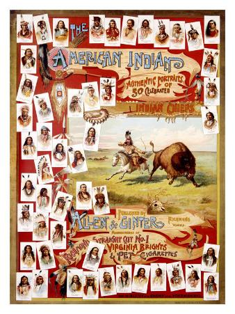 American Indian Chiefs, 1900