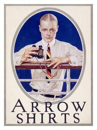 Arrow Shirts Advertising, c.1920