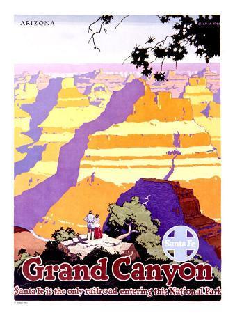 Santa Fe Railroad, Grand Canyon