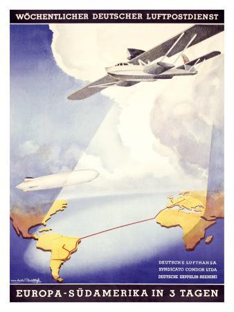 Wochentlicher Deutscher Luftpostdienst