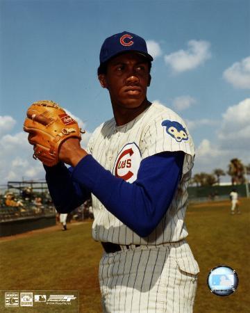 Ferguson Jenkins - Ball in glove, posed