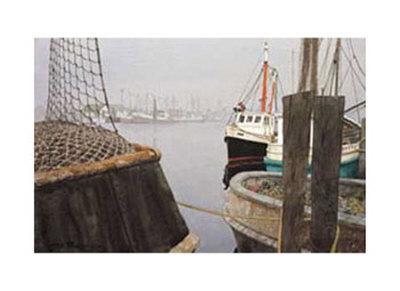 Fishing Harbor (Litho)