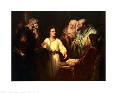 Christ in the Temple