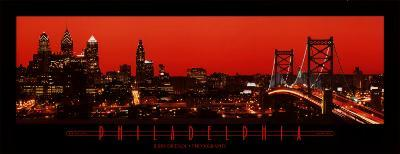 Philadelphia-Glowing