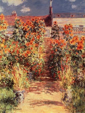 Garden at Vetheuil