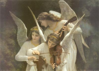 Angels Playing Violon