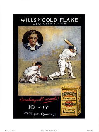 Wills's 'Gold Flake' Cigarettes