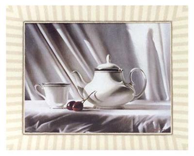 Cherry and Tea Pot
