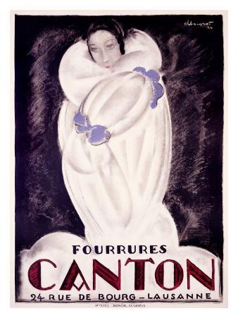 Fourrures Canton, 1924