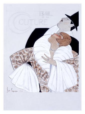 Bal de la Couture Maquette