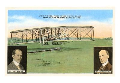 Wright Brothers, Kitty Hawk Flight