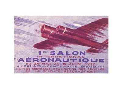 First Salon Aeronautique Announcement, 1937