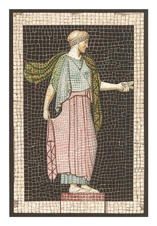 Mosaic of Woman, Decorative Arts