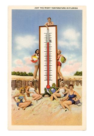 Just the Right Temperature, Bathing Beauties