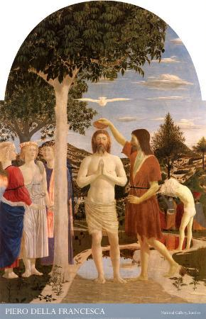 The Baptism of Christ, 1450