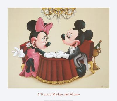 A Toast to Mickey and Minnie
