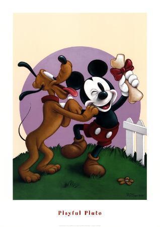 Playful Pluto
