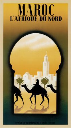 Maroc l'Afrique du Nord