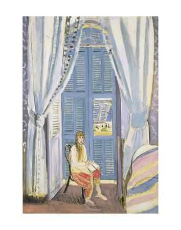 The French Window at Nice, Late 1919