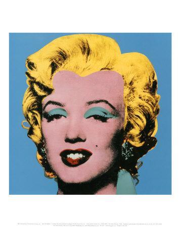 Shot Blue Marilyn, 1964