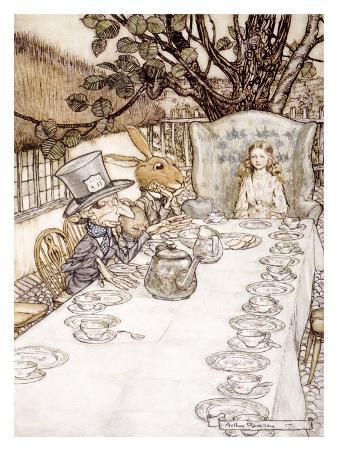 Alice in Wonderland, Madhatter Tea Party