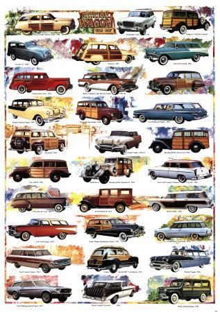 Station Wagons, 1932-1967