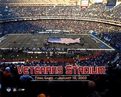 Veterans Stadium - 2003 Final Game