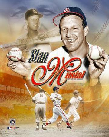Stan Musial - Legends Composite