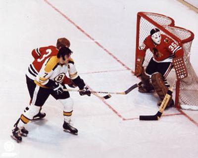 NHL Phil & Tony Esposito - Action