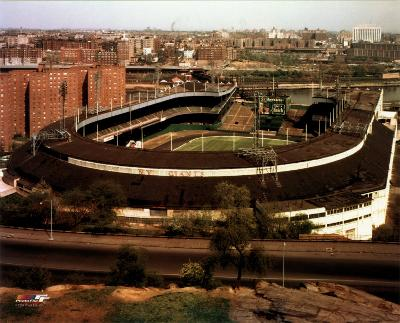 Polo Grounds - Aerial view