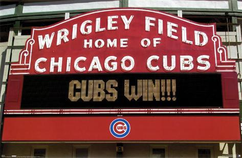 photo regarding Printable Cubs W Flag identified as Cubs Acquire!