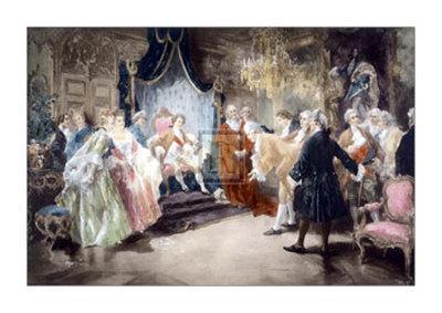 Bolingbroke Taking Leave of Louis XV