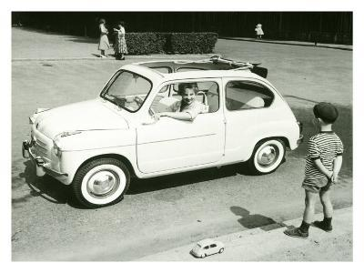 Boy and Car